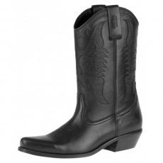 boty K064 vysoké westernové