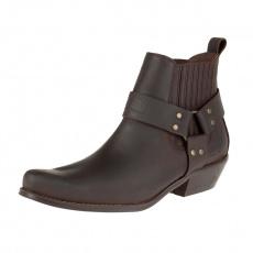 boty K075 kotníkové western