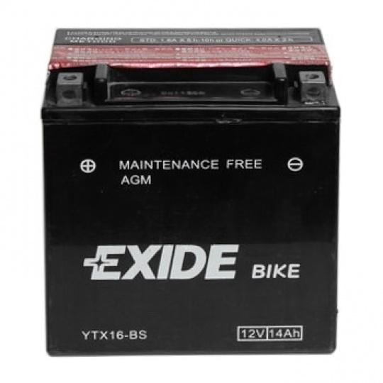 baterie bezúdržbová YTX16-BS, 12V, 14Ah