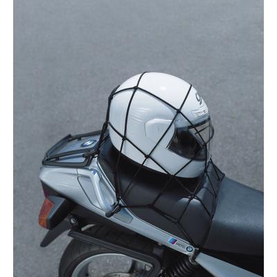 síťka na přilby, zavazadla, 40x40cm černá