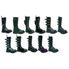boty Steel 20 dírkové s přezkama