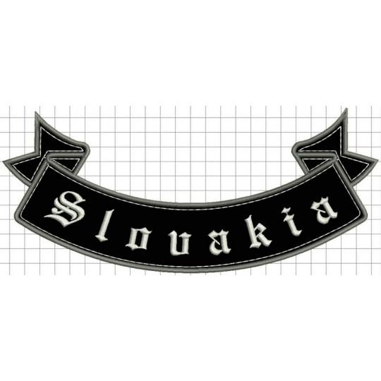 nášivka slovakia spodní