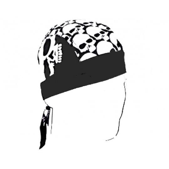 šátek na hlavu (čepička) velké lebky