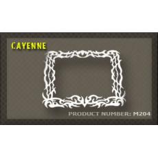 rámeček na SPZ 04 Cayenne