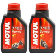 Motorový olej syntetický Motul 7100 Ester (10W40, 20W50)