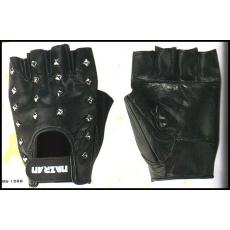 rukavice 786 bezprsté kožené s cvoky