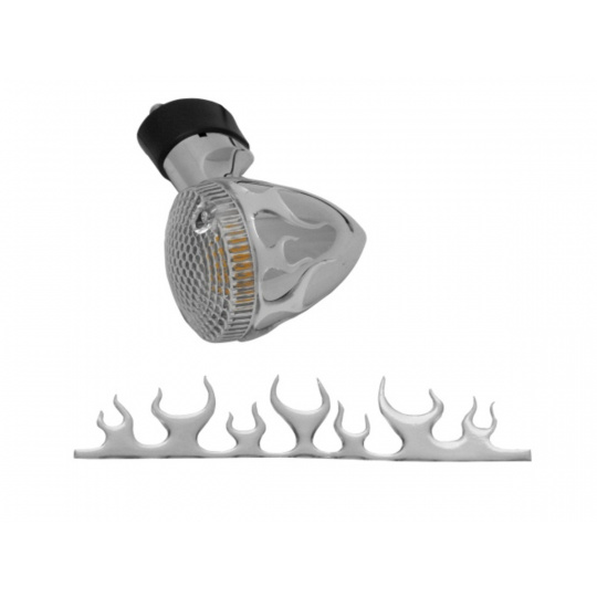 samolepící 3D ornament na blinkry