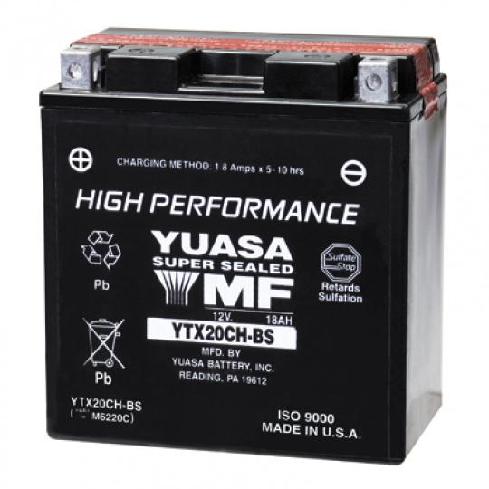 baterie bezúdržbová YTX20CH-BS, 12V, 18Ah
