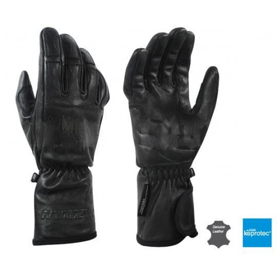 Dámské kožené moto rukavice Nius