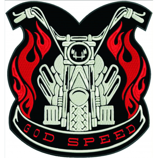 nášivka God speed