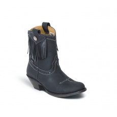 dámské nízké westernové boty WBL-32