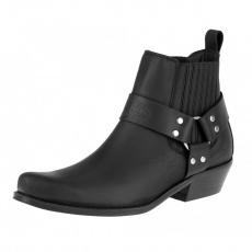 boty K074 kotníkové western