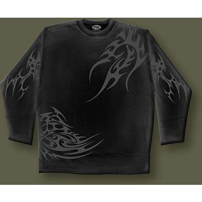 tričko s dlouhým rukávem s motivem Tribal Wrap