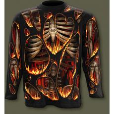 tričko s dlouhým rukávem s motivem Inferno