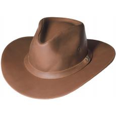 kožený klobouk Alan