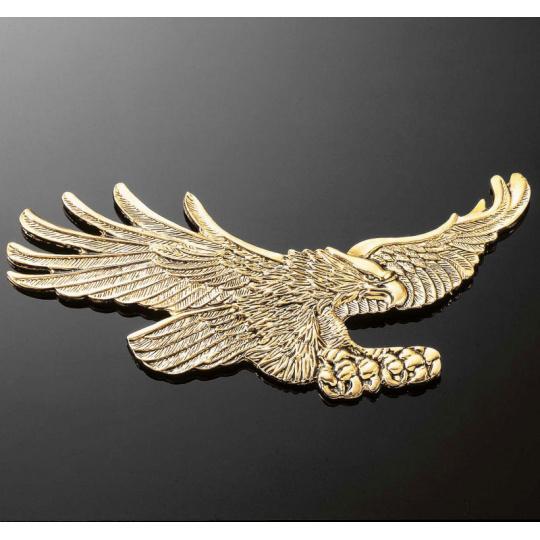 Emblém samolepící EAGLE, mosaz