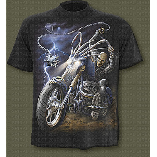 tričko s motivem Ride To Hell