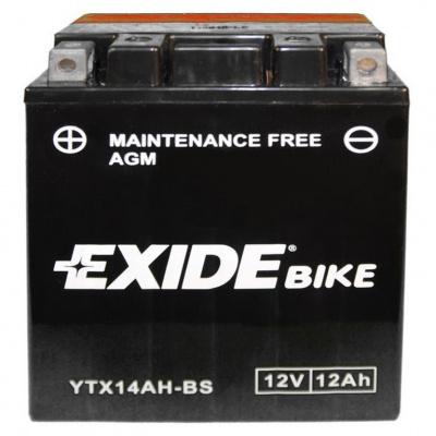 baterie bezúdržbová YTX14AH-BS, 12V, 12Ah