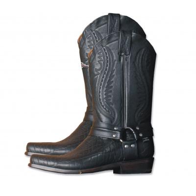 boty WB-17 - černé