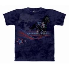 tričko s motivem Horse Flag