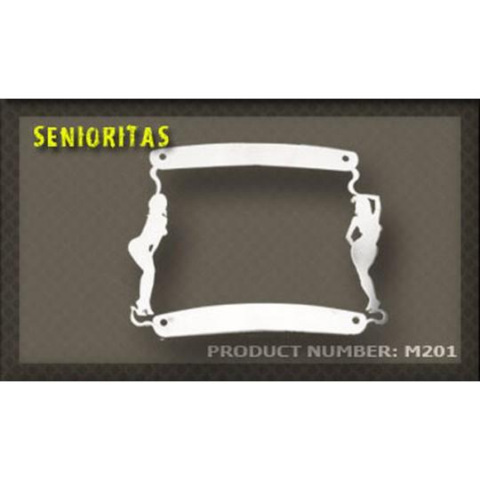 rámeček na SPZ 01 Senioritas