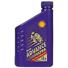 Motorový olej syntetický Shell Advance Ultra4 (10W-40, 15W-50)