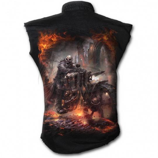 košile s motivem Steam Punk Rider