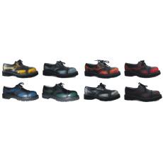 boty kožené KMM 3 dírkové stíraná barva