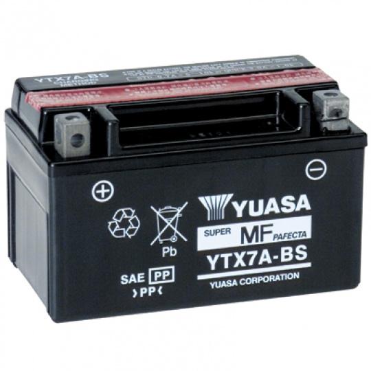 baterie bezúdržbová YTX7A-BS, 12V, 6Ah