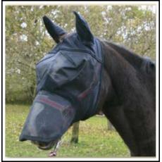 Maska proti hmyzu s ochrannou síťkou na uši a nozdry, z PVC