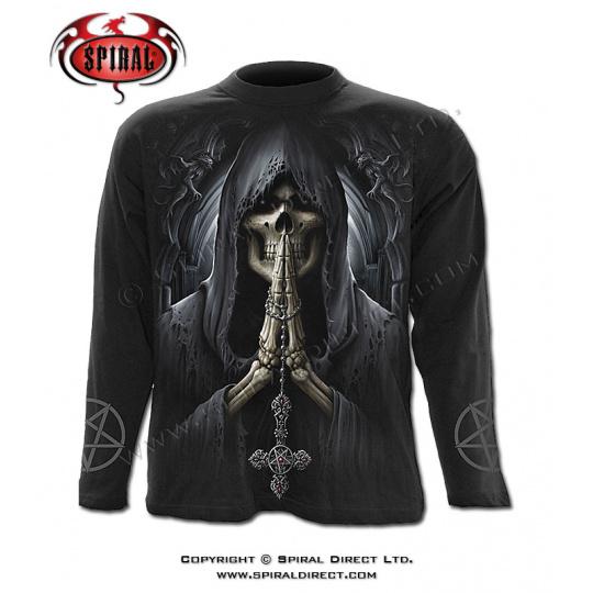 tričko s dlouhým rukávem s motivem Death Prayer
